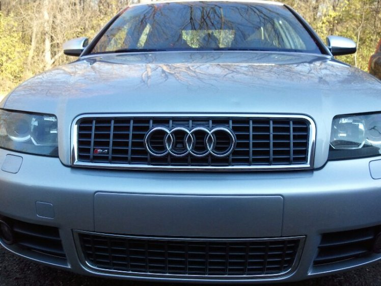 My car named Gus after AuGUSt Horch, founder of Audi